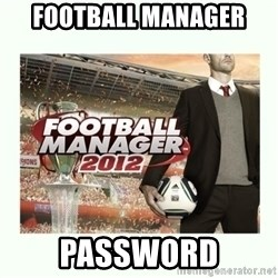 football manager 2013 - football manager password