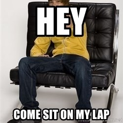 Justin Bieber Pointing - hey come sit on my lap