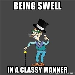 Drew Pickles: The Gayest Man In The World - Being Swell in a classy manner