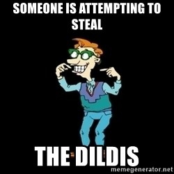 Drew Pickles: The Gayest Man In The World - someone is attempting to steal the dildis