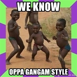 african kids dancing - we know oppa gangam style