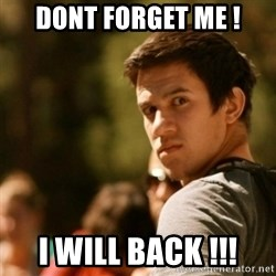 Disturbed David - Dont forget me ! i will back !!!