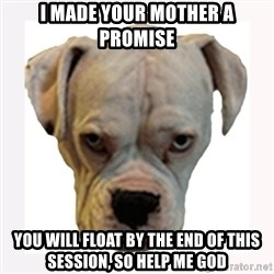 stahp guise - i made your mother a promise you will float by the end of this session, so help me god