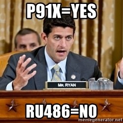 Paul Ryan Meme  - p91x=yes ru486=n0