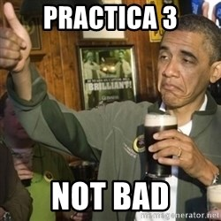 THUMBS UP OBAMA - Practica 3 not bad