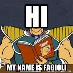 El Arte de Amarte por Nappa - HI MY NAME IS FAGIOLI