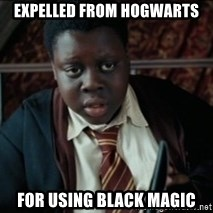 Harry Potter Black Kid - Expelled from hogwarts for using black magic