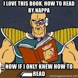 El Arte de Amarte por Nappa - I love this book, how to read by Nappa Now if i only Knew how to read