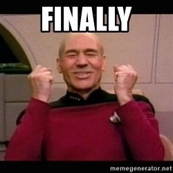 Picard yes - finally