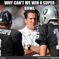 Knapped  - WHY CAN'T WE WIN A SUPER BOWL