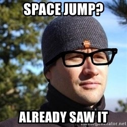 Hipster Reagan - space jump? already saw it