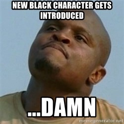Token T-Dog - new black character gets introduced ...damn