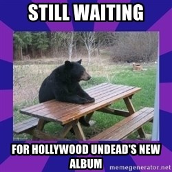 waiting bear - Still waiting For hollywood undead's new album
