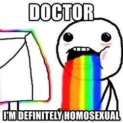 Puking Rainbows - doctor i'm definitely homosexual