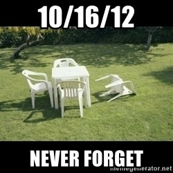 Never Forget Earthquake - 10/16/12 NEVER FORGET