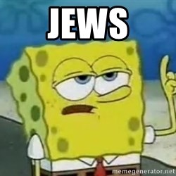 Tough Spongebob - jews