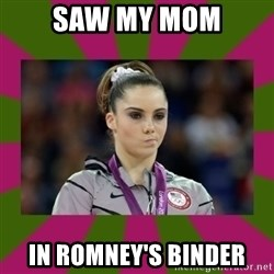 Kayla Maroney - Saw My mom In Romney's binder