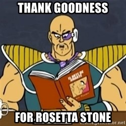 El Arte de Amarte por Nappa - Thank goodness For rosetta stone