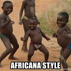 african children dancing - Africana sTyle