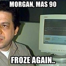pasqualebolado2 - MORGAN, MAS 90 FROZE AGAIN..