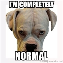stahp guise - I'M COMPLETELY NORMAL