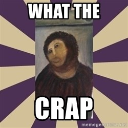 Retouched Ecce Homo - WHAT THE CRAP