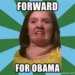 Disgusted Ginger - Forward for obama