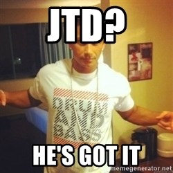 Drum And Bass Guy - JTD? HE'S GOT IT