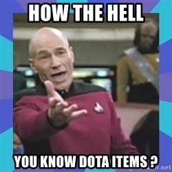 what  the fuck is this shit? - How the hell you know dota items ?