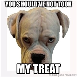 stahp guise - YOU SHOULD'VE NOT TOOK MY TREAT
