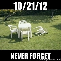 Never Forget Earthquake - 10/21/12 Never forget