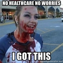 Scary Nympho - No healthcare No worries I got this