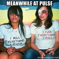 Scary Nympho - Meanwhile at Pulse