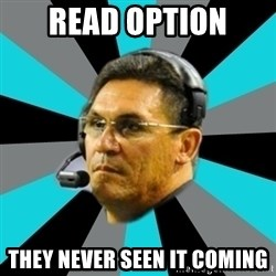 Stoic Ron - read option they never seen it coming