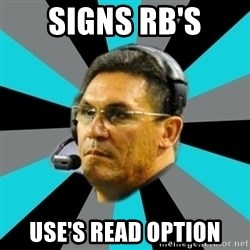 Stoic Ron - signs rb's use's read option