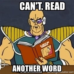 El Arte de Amarte por Nappa -       CAN'T. READ ANOTHER WORD