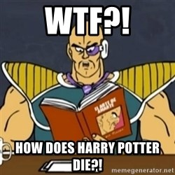 El Arte de Amarte por Nappa - WTF?! HOW DOES HARRY POTTER DIE?!