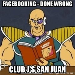 El Arte de Amarte por Nappa - Facebooking - done wrong club j's san juan
