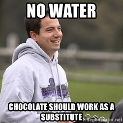 Empty Promises Coach - No water Chocolate should work as a substitute