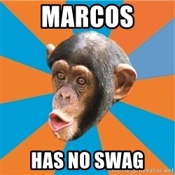 Stupid Monkey - marcos has no swag
