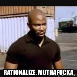 James Doakes surprise - rationalize, muthafucka