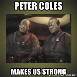 Star Trek: Pakled - Peter Coles makes us strong