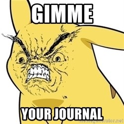 CHUUUUU - GIMME YOUR JOURNAL