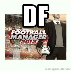 football manager 2013 - df