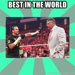 CM Punk Apologize! - BEST IN THE WORLD