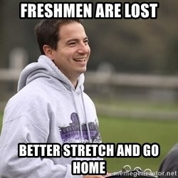 Empty Promises Coach - Freshmen are lost Better stretch and go home