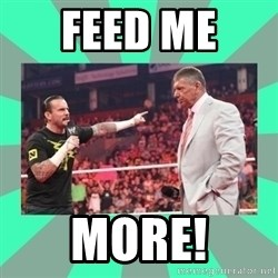 CM Punk Apologize! - Feed me  more!