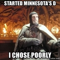 choose wisely  - started minnesota's d i chose poorly