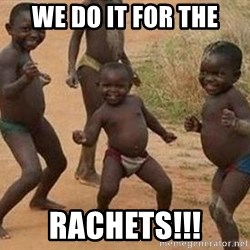 african children dancing - We do it for the rachets!!!