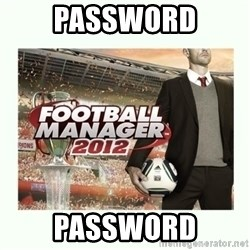 football manager 2013 - password password